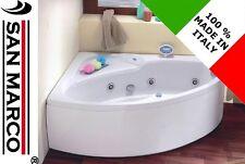 Vasca da bagno non idromassaggio ad angolo 150x100 cm asimmetrica reversibile