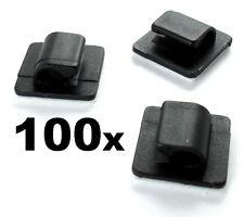 Passe-câble Support Auto-adhésif Pour Ensemble De Câbles X 100