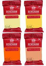Renshaw Ready To Roll Fondant Icing Yellow Mix Pack