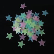 Lots of 100pcs Wall Glow In The Dark Star Stickers Decal In Kids Nursery Room C