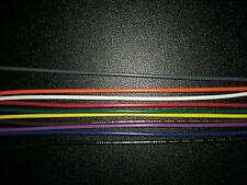 18 AWG Gauge Stranded Hook Up Wire 10 colors 10, 25, 50 ft UL1007 300v