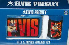 Elvis Presley Salt and Pepper Shakers Xmas Kitchenware Holiday Gift Graceland