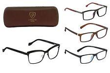 Optical Eyeglasses Designer Spectacles For Prescription Glasses Frames with Case