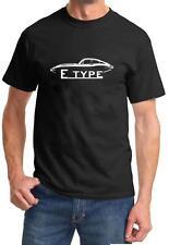 Jaguar E Type Coupe Classic Sports Car Design Tshirt NEW FREE SHIP