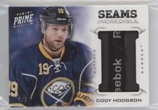 2013-14 Panini Prime Seams Incredible #SI-CHO Cody Hodgson Buffalo Sabres Card