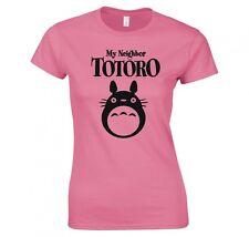 MY NEIGHBOR TOTORO, HAYAO MIYAZAKI, ANIME LADIES T-SHIRT NEW