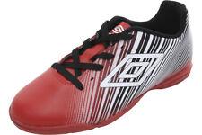 Umbro Men's Slice II Red/Black/White Indoor Soccer Sneakers Shoes