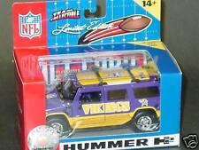 2005 NFL Die Cast Hummer H2, Minnesota Vikings, NEW