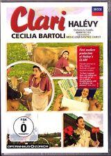 2.DVD Fromental HALEVY: CLARI Cecilia BARTOLI Adam FISCHER OSBORN LIEBAU WIDMER