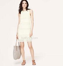 Medium NWT Lemon Tart Color Ann Taylor LOFT Bandeau Top Dress Size X-Small