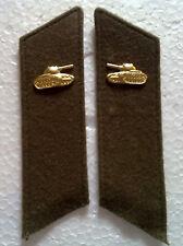 Cuello espejo tropas de tanques abrigo coat uniforme URSS CCCP sq