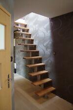 Space Saving Modular Loft Staircase, Natural Alder DIXI