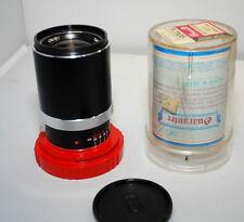 Zeiss 135mm F4 Tele-Tessar  Contaflex 126 Lens  in original case