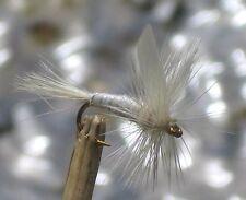 GILCHRIST FLIEGEN.Trockenfliegen WHITE MILLER. 4 Stück von einer Größe