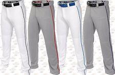 Easton Adult Mens Mako 2, Baseball Pants Softball Pants W/ Piping Braid A167101