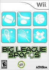 Nintendo Wii : Big League Sports VideoGames