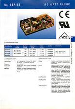 12V 30A farnell anticipo ns360012 Alimentatore / Caricabatteria. 1YR WARRANTY