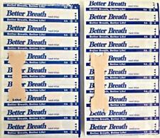 Better Breath Nasal Strips Reg or Large Anti Snoring Aid to Stop Snoring