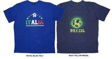 Espionage Cotone T-Shirt girocollo (T145) TAGLIA XXL - 6XL,ITALIA O Brasile TEMA