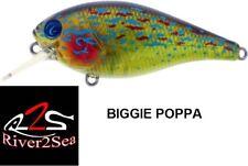 Leurre flottant River2Sea Biggie Poppa Bumpin 57 et 67 4 couleurs