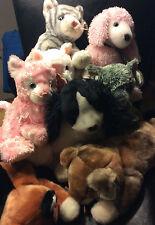 w-f-l TY Bonnet Buddy chiens+ CHATS env. 30 cm grand choix I animal en tissu