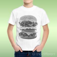 camiseta Niño niño Sándwich América Hamburguesas Grande Grande Idea De Regalo