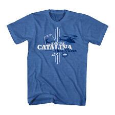 Step Brothers Catalina Wine Mixer Heather Blue T-shirt
