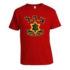 Israel Defense Force IDF Army Logo Men T-shirt 100% Cotton