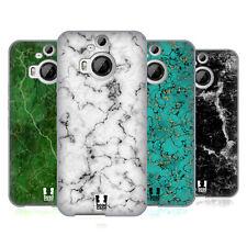HEAD CASE DESIGNS MARBLE PRINTS SOFT GEL CASE FOR HTC PHONES 2