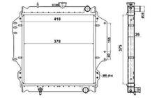 NRF Autokühler Für SUZUKI SJ SAMURAI 513161