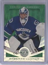 2013 Totally Certified Mirror Platinum Green #6 Roberto Luongo Vancouver Canucks