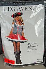 Leg Avenue Aye Aye Admiral Women's Halloween Costume F5253