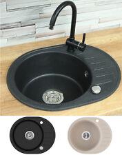 Spülbecken granit rund  Für Bad & Küche Spülen aus Graniten | eBay