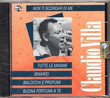 CLAUDIO VILLA CD made in ITALY sigillato 15 tracce TUTTE LE MAMME sealed