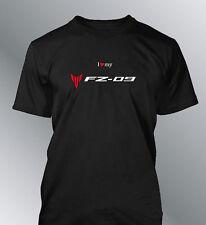 Tee shirt personnalise FZ09 S M L XL XXL homme moto FZ-09