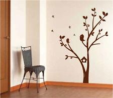 Niños Árbol & Pájaros Arte Vinilo Adhesivos De Pared / Adhesivo Pared
