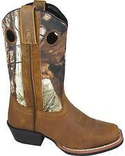 Smoky Mountain Boys' Mesa Camo Western Boot Square Toe 3470C/3470Y