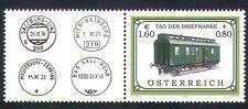 Austria 2002 Tren/Ferrocarril/pasajero Carro/Ferrocarril/transporte 1 V + Lbl (b9600)