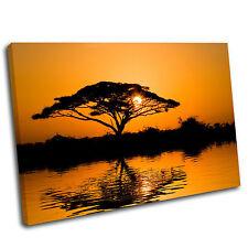 Orange Tree Landscape Canvas Wall Art Print Framed Picture 26 PREMIUM QUALITY