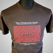 The Overlook Maze Movie Themed Retro T Shirt Overlook Hotel Shining Nicholson