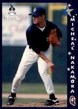 1998 Fort Wayne Wizards Q-Cards #22 Micheal Nakamura Melbourne Australia Card