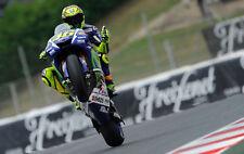 VALENTINO ROSSI MOTO GP MOTORBIKE CANVAS PICTURE POSTER PRINT UNFRAMED #1236