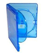 BLU RAY 3 VIE CASE 14 mm spina dorsale per azienda 3 dischi ricambio nuovo copertura Amaray