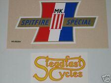 BSA Spitfire Special MK III vinyl decal sidecover tank top