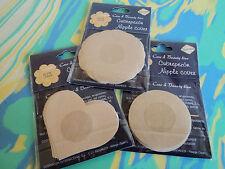 New 5 Pairs Breast Nipple Covers Bra Petal Pasties Adhesive Reusable Self Pad