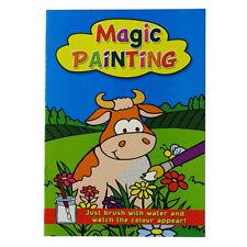 Libro De Pintura De Magia Para Niños - 2 Diseños Disponibles