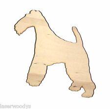 Irish Terrier Dog Unfinished Wood Shape It5570  00004000 Crafts Lindahl Woodcrafts