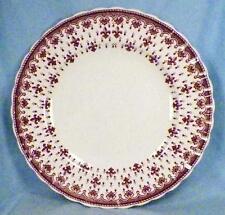 Copeland Spode Fleur-de-Lis Luncheon Plate Porcelain Brown England Dinnerware