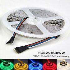 5m LED Stripe 12V 24V Dimmbar RGB RGB+WW RGBW RGBWW SMD5050 IP65 Streifen Band