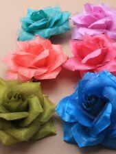 Pequeño Flor pelo clip y broche, ropa en Pelo o en Chaqueta